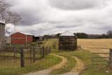 April 13, 2008 - Farm on a cloudy day