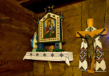 Crucifix And Icon