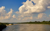 Clouds And River