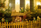 Christmas Crib In Church Of  Blessed Jakub Strzemie