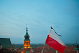 Flag Of Mourning Over Warsaw