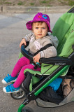 Ula In Her Buggy