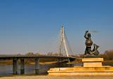 Mermaid At The Swietokrzyski Bridge