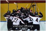 16 décembre 2007  Vikings 5 - Riverins 4 (OT)