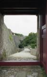 Shuri-castle in Okinawa Reala