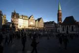 Old city square in Frankfurt M8