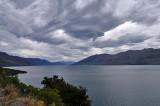 Clouds over Lake Hawea