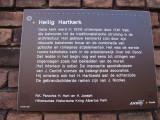 Hilversum, RK heilig hart kerk info, 2008.jpg