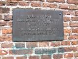 Hilversum, prot Grote Kerk plaquette, 2008.jpg