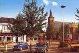 Den Burg, Groene Plaats met NH kerk, circa 1970