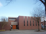 Biddinghuizen, De Voorhof entree Bonifaciuskerk, 2007