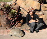 REPTILE - TORTOISE - LEOPARD TORTOISE - STIGMOCHELYS PARDALIS - KAROO NATIONAL PARK SOUTH AFRICA (11).JPG