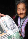 HILLTRIBE - HMONG - NEWSPAPER ARTICLE - CHRISTMAS IN THAILAND TRIP 2008 (7).JPG