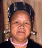 HILLTRIBE - KAREN LADY WITH SPECIAL EARINGS - PAO WOMAN A.jpg