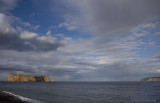 Perce Rock at end of the rainbow.jpg