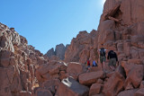 Mt Sinai ascent, the short route
