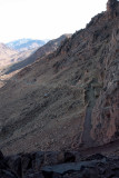 Mt Sinai ascent, the long route