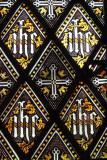 Sydling Saint Nicholas Church window