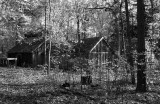 Sugar shack and cabin