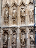 Cantebury Cathedral - Exterior Statues