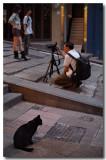 the onlooker & the photogenic street...