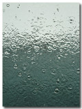 raindrops keep falling ...