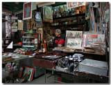 the happy shopkeeper...