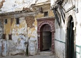 Casbah - Alger - The yellow wall