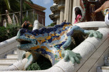 Dragon in Parc Guell