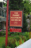 The Parry Mansion (sign)