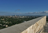 view from the Getty