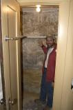Permian closet at Kolb's house.