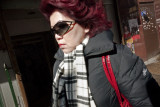 Woman With Red Hair, Mott Street