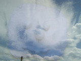 Face in the Clouds!
