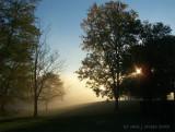 Fog on Ohio River