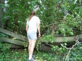 Surveying Storm Damage.
