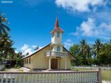 The church in Tuherahera