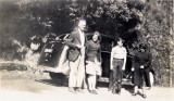 My Grandpa, Jim Parr, mother Ciss, uncle Frank and grandma Dorothy Parr (nee Linter)