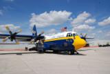 Blue Angels Fat Albert C-130 at Charlotte Co. Airshow Punta Gorda Fl.