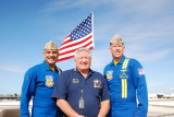 USN Angel Crew with Air Boss Bob Hall at Charlotte Co. Airshow Punta Gorda Fl.