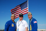 US Navy Angel Crew with Jerry Crady, ATC at Charlotte Co. Airshow Punta Gorda Fl.