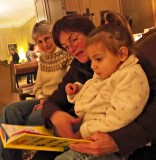 Ann, Martha and Flora Reading