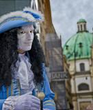 Vienna Street Performer