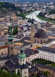 Salzburg on the Salzach River