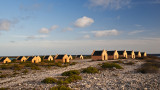 many huts