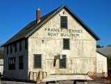 frank f penney, boat builder