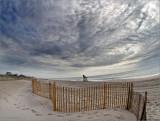 Davis Beach clouds