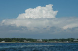 clouds over long island