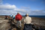 Hiking Genovesa Island