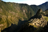 Machu Picchu Morning Shadows